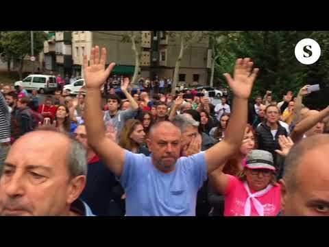 Referéndum 1-O en la Escola Tomàs Moro del barrio de Canyelles (Nou Barris)