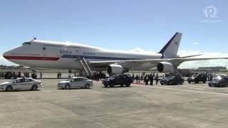 APEC 2015: Arrival of Park Geun-Hye, South Korea President