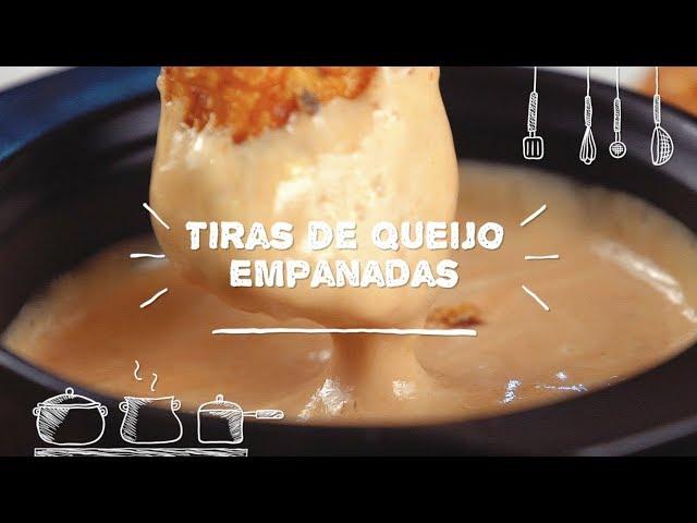 Tiras de Queijo Empanadas - Sabor com Carinho (Tijuca Alimentos)