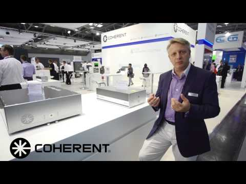 Coherent Laser Munich 2017 - Diode-Pumped Solid-State Lasers