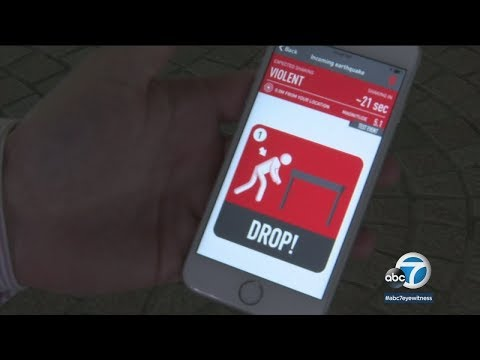Earthquake early warning app sends alert through various devices | ABC7