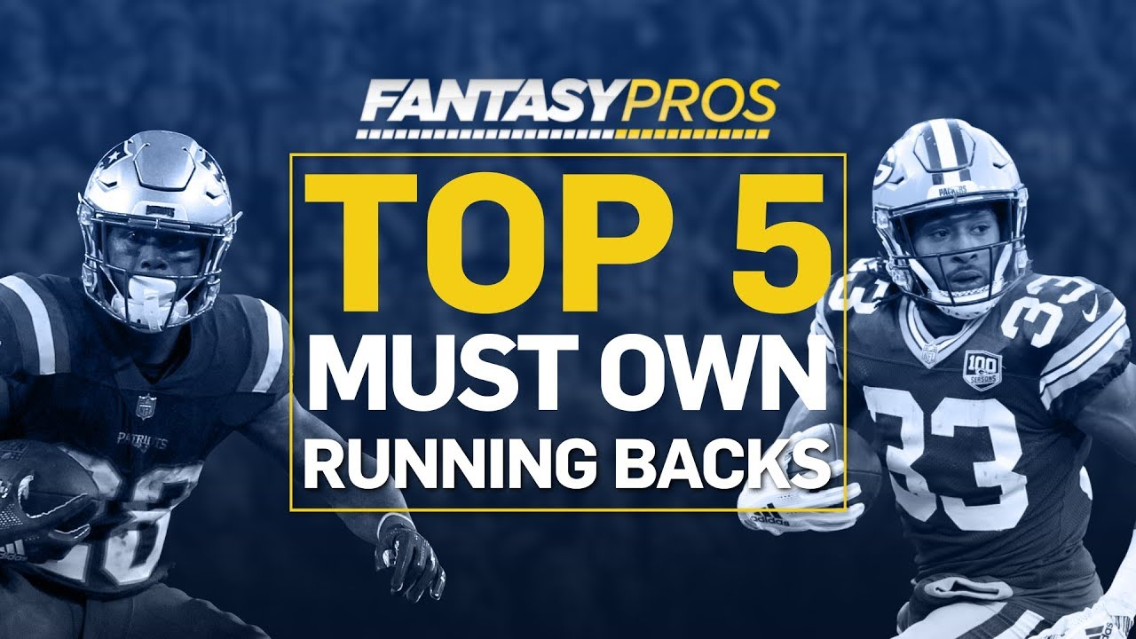 Best Rb Fantasy 2020.Top 5 Must Own Running Backs 2019 Fantasy Football