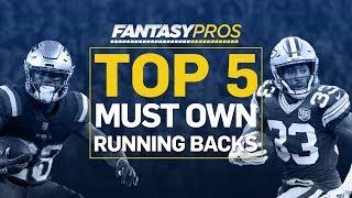 Top 5 Must-Own Running Backs (2019 Fantasy Football)