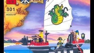 конструктор Пираты от Brick - Обзор игрушек