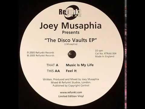 Joey Musaphia  -  Music Is My Life