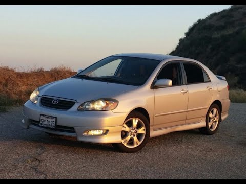 2005 Toyota Corolla XRS Manual - One Take