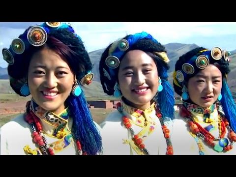 Tibetan Gonjo Traditional Dance མདོ་ཁམས་གོ་འཇོའི་སྲོལ་བྲོ། རྒྱ་ལྕང་གི་ལོ་མ།
