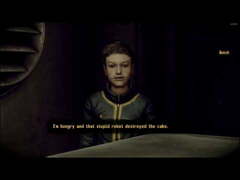 Fallout 3: Telling Butch I ate the Sweetroll + Amata's Reactions |