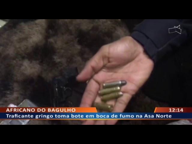 DF ALERTA - Batidão na Asa Norte: polícia dá bote em boca de fumo