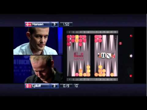 most famous big balls play ever made in backgammon Gus Hansen v Sander Lylloff