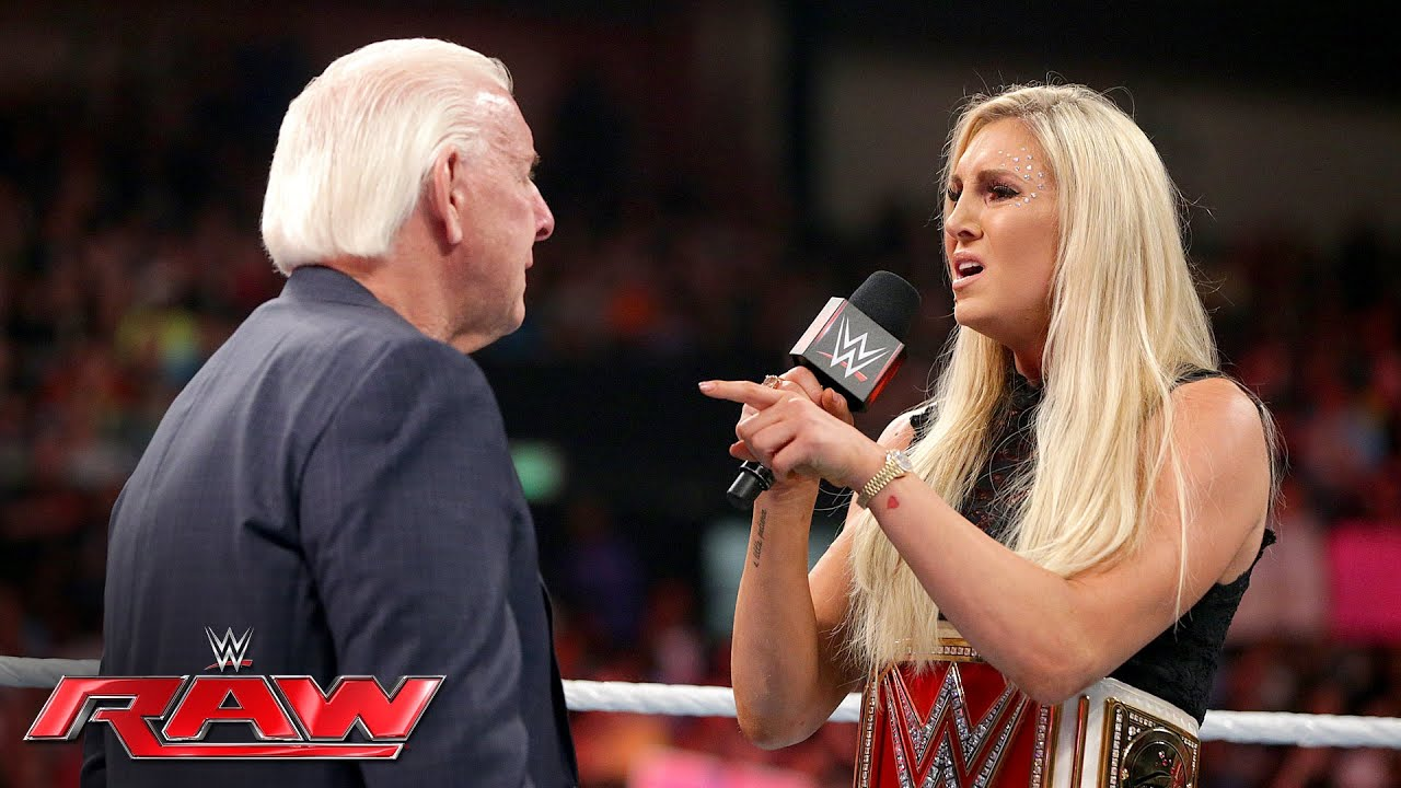 Charlotte Wants Nothing To Do With Her Father Ric Flair Raw May 23 2016