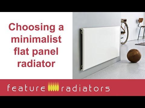 How to choose flat panel radiators