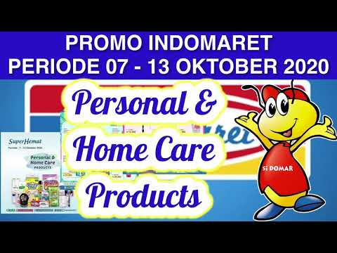 Promo Indomaret Periode 07 13 Oktober 2020 Super Hemat Personal Home Care Products Youtube