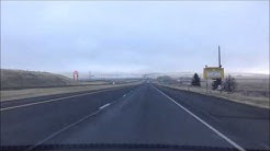 Drive to La Grande from Pendleton, Oregon down Hwy 84; dashcam guide