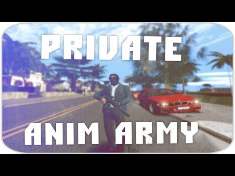 ПРИВАТНЫЕ АНИМАЦИИ ВОЕННЫХ [CLEO] | ANIM ARMY [SAMP]