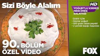Yoğurtlu Kırmızı Mercimek Salatası... Sizi Böyle Alalım 90. Bölüm