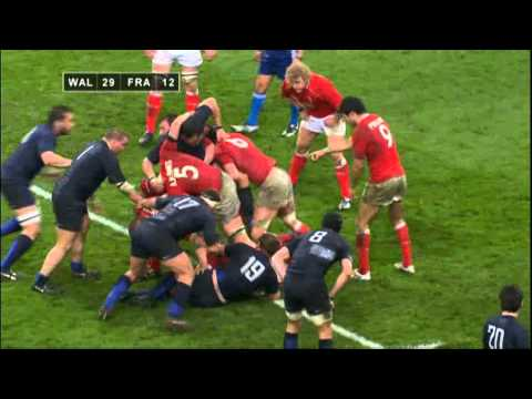 Wales Grand Slam 2008 - The last 5 minutes