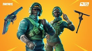 Fortnite new skins. Reflex and instinct - Pivot glider