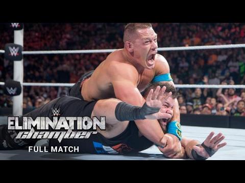 FULL MATCH John Cena vs Kevin Owens  WWE Elimination Chamber 2016