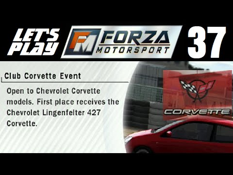Let's Play Forza Motorsport - Part 37 - Amateur - Club Corvette Event