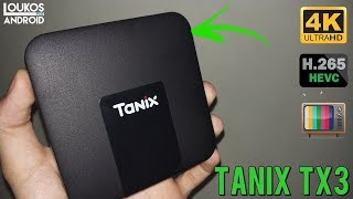 TV Box Tanix TX3 é bom? 4K, H265, 2GB RAM + 16GB ROM - REVIEW BR ‹ LOUKOS POR ANDROID ›