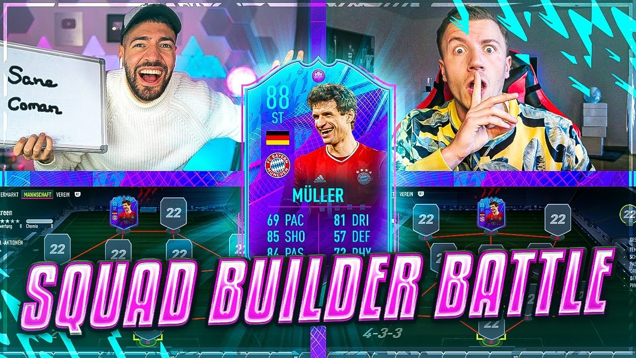 Download FIFA 22: PLAYER OF THE WORLD MÜLLER Squad Builder Battle ☠️☠️ FEELFIFA vs Wakez 🔥🔥