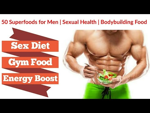 Sexual health & Gym fitness | Superfoods for Best energy boost sex foods