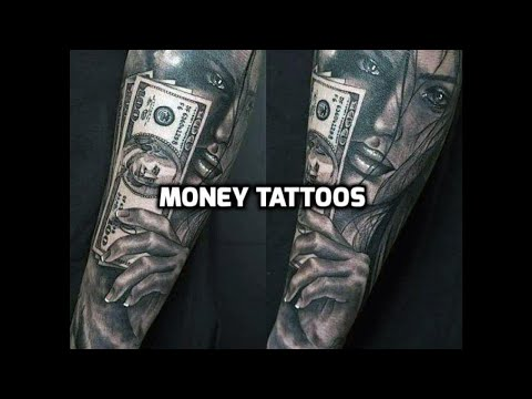 Money Tattoo Designs - Best Money Tattoos