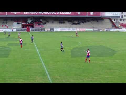 Vídeo de los goles de la victoria del Arosa en el derbi ante el Céltiga