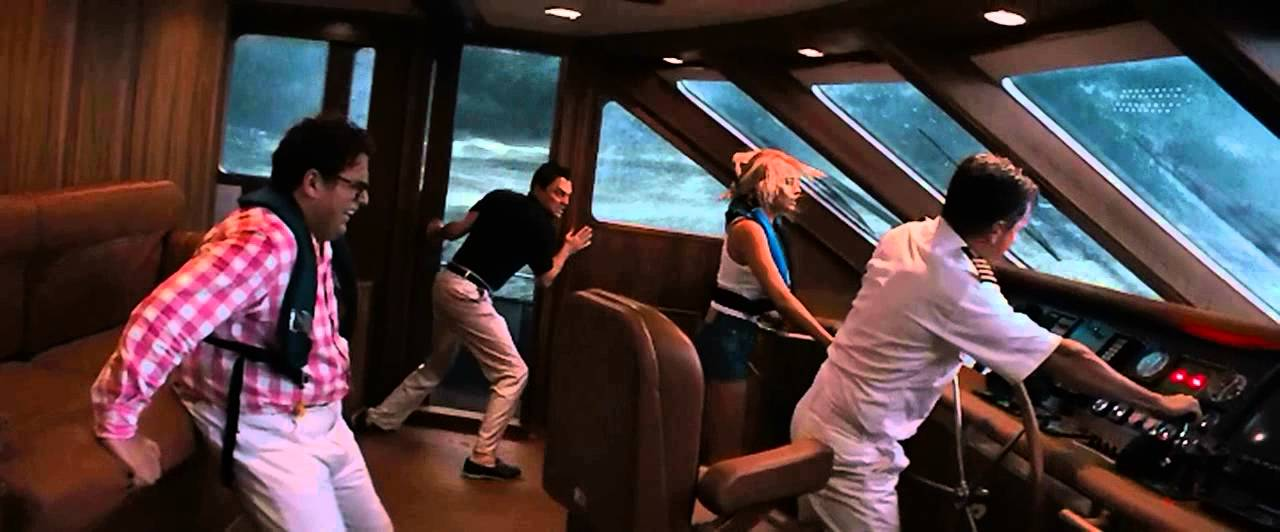The Wolf Of Wall Street Scene The Yacht In The Storm YouTube