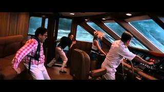 The Wolf of Wall Street Scene The yacht in the storm