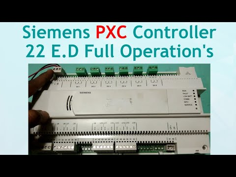 #PXC Controller# Siemens PXC Controller 22 E D Full Operations