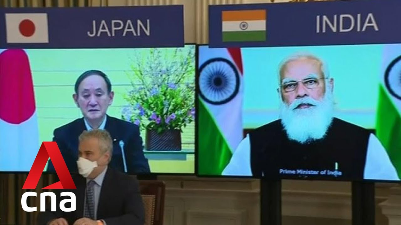 Download Biden to host first in-person Quad summit with leaders of Australia, India and Japan