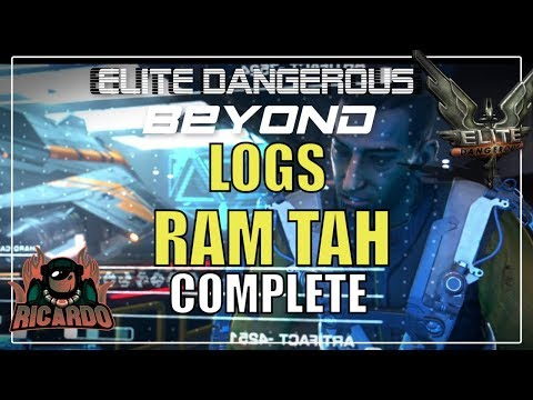Elite: Dangerous New Guardian Logs from Ram Tah - Complete SPOILERS