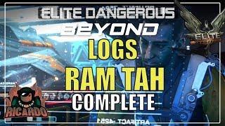 Elite Dangerous New Guardian Logs from Ram Tah  Complete SPOILERS