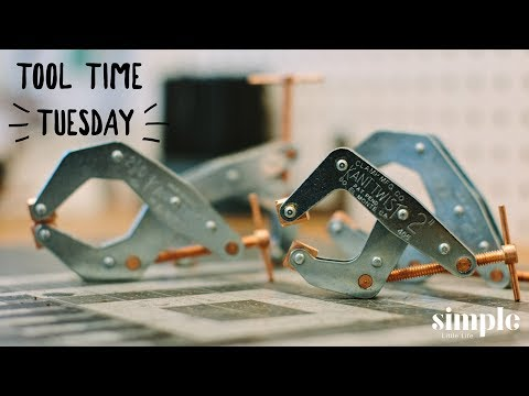 Tool Time Tuesday - Kant Twist Clamps - Excellent clamps for knife making