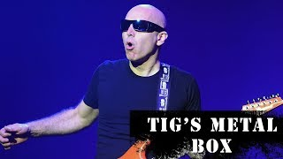 Joe Satriani on What Kirk Hammett + Steve Vai Were Like as Students