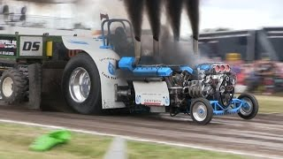 4200kg Heavy Modified | Tractor Pulling Hjallerup 2015
