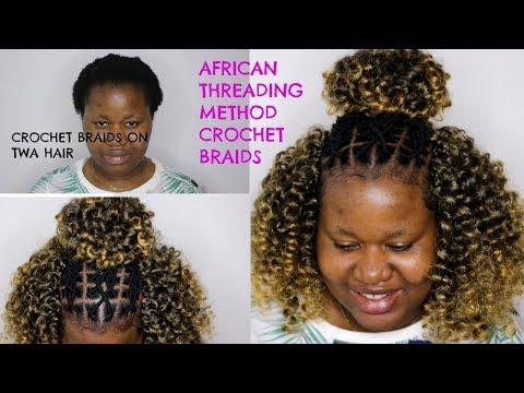 BRAIDLESS CROCHET BRAIDS ON TWA HAIR | JAMAICAN BOUNCE HAIR | OmoniCurls