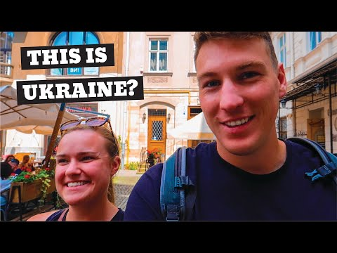 American's First Impressions Of UKRAINE | Lviv