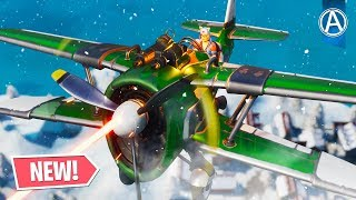 *NEW* Fortnite X-4 STORMWING AIRPLANE! (Fortnite Battle Royale SEASON 7)