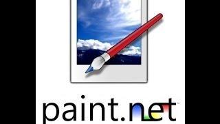 Вся программа paint.net в одном уроке!