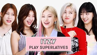 ITZY Reveal Who's the Best Secret Keeper, Most Shy, and More | Superlatives