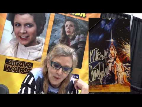Meeting Carrie Fisher
