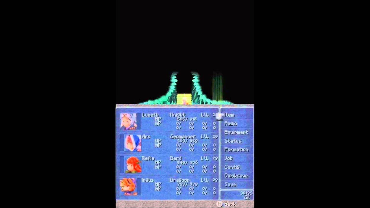 FINAL FANTASY III DS WALKTHROUGH EPUB