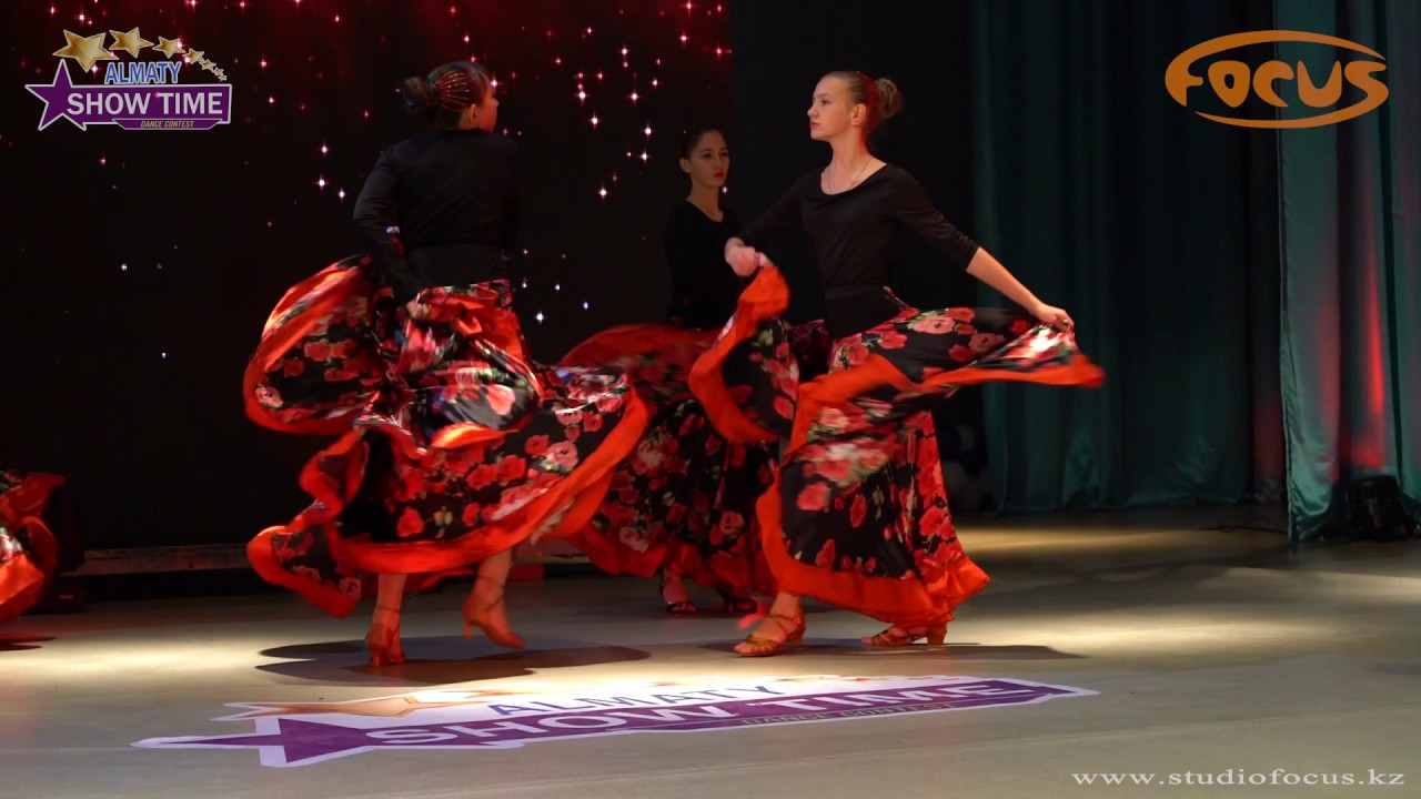 Конкурс испанского танца