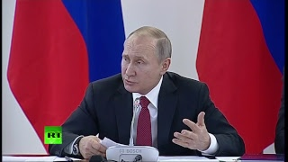 «О глобальной конкурентоспособности российский науки»: Путин проводит заседание в Новосибирске