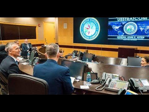 NATO Secretary General at United States Strategic Command (USSTRATCOM) in Nebraska, 06 APR 2018