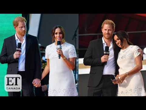 Download Prince Harry & Meghan Markle Hold Hands On Stage At Global Citizen