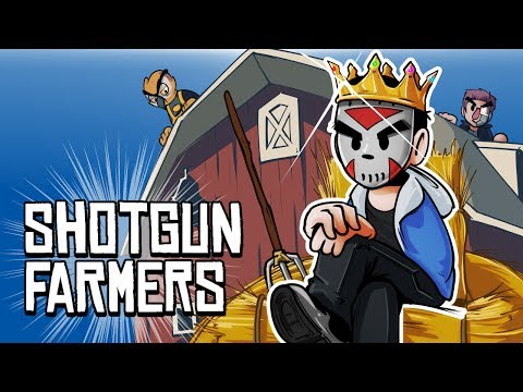 SHOTGUN FARMERS - KING OF THE BARN!!!